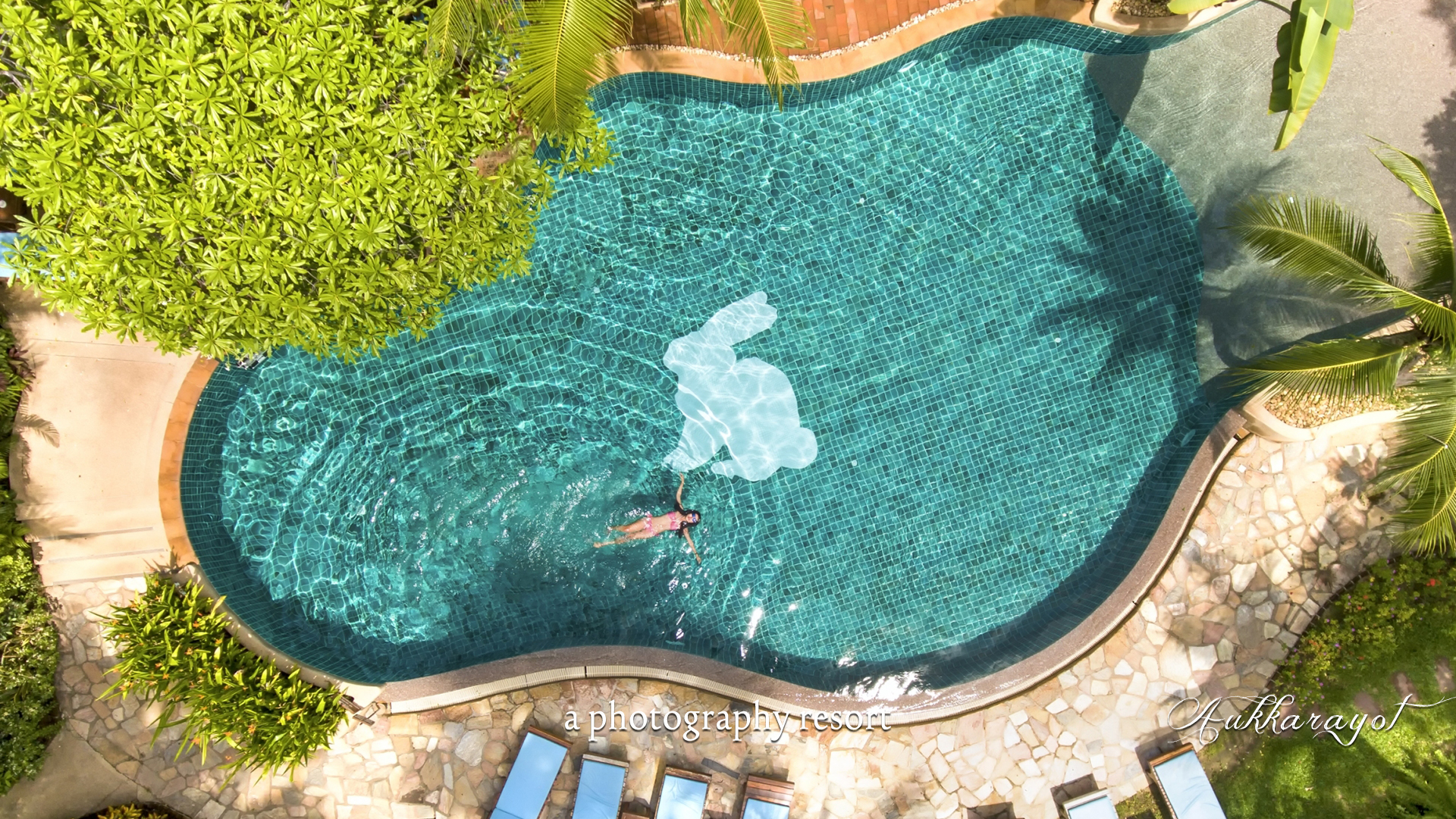 hotel pattaya top view pool